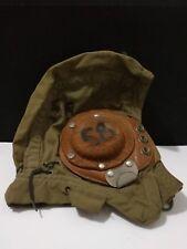 WWII AVIATION MESH CLOTH PILOTS HELMET PORTUGUESE?