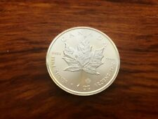 Lot of 25 2017 1 oz. silver Canadian Maple Leaf Coins - brilliant uncirculated