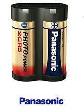 Panasonic 2CR5 Lithium Photo Battery 1400mAh 2CR5 Lithium 6V DL245 RL2CR5 EL2CR5
