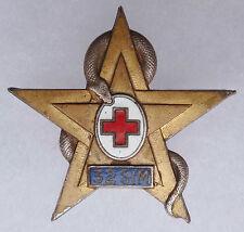 Insigne 32° SIM Section Infirmiers Militaires Service de Santé AFN ORIGINAL