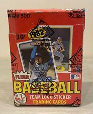 1982 Fleer Baseball Unopened Wax Pack Box w/ 36 Packs BBCE Sealed