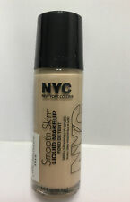 NYC New York Color Smooth Skin Liquid Makeup - # 676 Ivory NEW.
