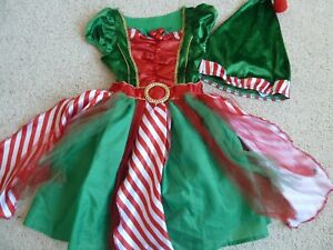 M&S Marks and Spencer Christmas Girls Costume Fancy Dress Outfit size 5-6 years