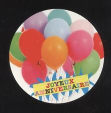 NEUF CARTE JOYEUX ANNIVERSAIRE + ENVELOPPE !! 10 CARTES ACHETEES = PORT GRATUIT