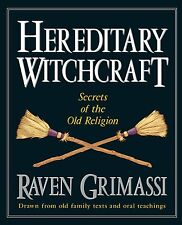 Hereditary Witchcraft Secrets of Old Religion Book ~ Wiccan Pagan Supply