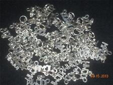 Wholesale Lot #348 WWJD? Pewter Charm Use as Pendant Earring on Key Chain Crafts