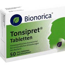 TONSIPRET Tabletten   50 st   PZN 3524554