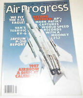 Air Progress Magazine We Fly The F-15 Eagle May 1987 080514R