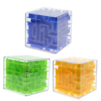 3D Magic Cube Maze Puzzle Game Children Educational Labyrinth Smart Child Gifts