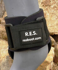 Neoprene Fetlock Boot / Ankle Boot with Replaceable Velcro by R.E.S. - Size Lrg.