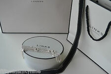 Nuevo Genuino enlaces de Londres Nota Plata Esterlina Amor Pulsera Multi Strand