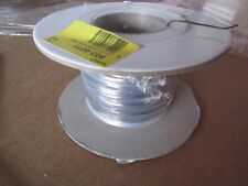 100m x UL1371 Series Grey PTFE Hookup & Equipment Wire 26 AWG BlkBR 9034011