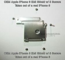 Apple iPhone 6 EMI Shield Digi/LCD Front Camera Screw Shield Bracket & 5 Screws