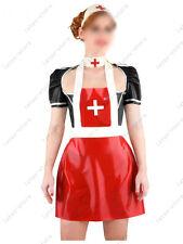 451 Latex Rubber Gummi Clinic nurse Dress Skirt one piece apron customized 0.4mm