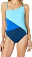 Bleu Rod Beattie Women's 183976 Asymmetrical Mio Removable Cup Swimsuit Size 8