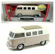 1:18 Scale Road Signature 1962 VW Bus w Sliding Sunroof Diecast Car Volkswagen