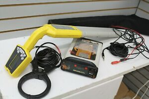 Radiodetection RD400LCTX Receiver & Rycom 8865 Wand Cable Pipe Location System