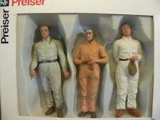 1/24 Preiser Miniaturfiguren Rennfahrer aus der Frühzeit 57108