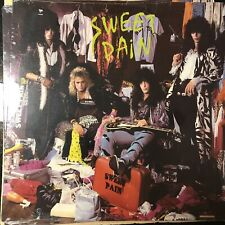 RARE Sweet Pain Vinyl Record 1985 SEALED. Glam Metal Hair Metal LA Guns Throbs