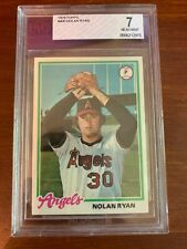 1978 Topps #400 Nolan Ryan Angels HOF BVG 7 NM