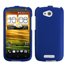 For HTC One VX Titanium Solid Dark Blue Phone Protector Case Cover