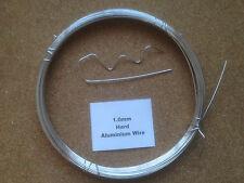 1mm x 15m 19SWG Stiff Aluminium Wire Floristry Craft Jewellery Bonsai Model