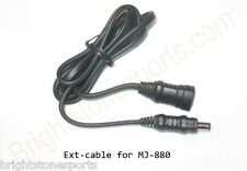 MagicShine extension cable for MJ880 880U Bike Light Oval Plug
