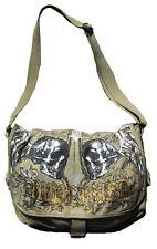 AMPLIFIED Totenkopf HOLY SKULL Engel Army Canvas Schulter Tasche Shopper ViP Bag