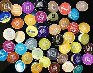 Nescafé Dolce Gusto Probierpaket Probierset 57  Kapseln 44 Getränke Kaffee