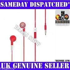 Nueva red Auriculares Auriculares Manos Libres + Volumen + Micrófono Para Iphone 3gs 4 4s 5 Ipad