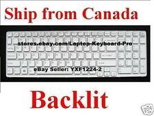 Keyboard for SONY SVE151E11L SVE15117FDW  - Backlit US English
