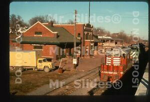 Duplicate Slide CB&Q Burlington Route /BN Nebraska City NE Station