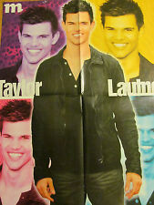 Taylor Lautner, Harry Potter, Double Four Page Foldout Poster