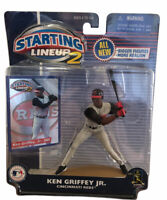 Ken Griffey Jr. Cincinnati Reds 2001 Starting Lineup 2 Figure SLU MLB Baseball