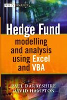 Hedge Fund Modeling and Analysis Using Excel and VBA, Hardcover by Darbyshire...