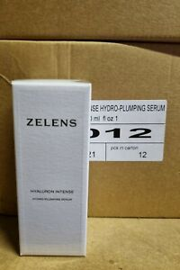 Zelens Hyaluron Intense Hydro-Plumping Serum 30ml RRP £60 NEW