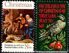 USA 1971 Sc1444-5 2v mnh Christmas,Painting