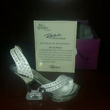 Just The Right Shoe By Raine Drops Originals Sea of Pearls Coa Box 25094