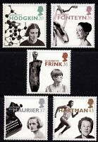 GB 1996 Europa. Famous Women Complete Set SG1935 - 1939 Unmounted Mint