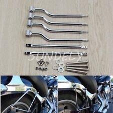 Refit Saddlebag Saddle Bag Support Mounting Bracket Bars For Harley Motorcycle