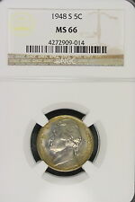 1948-S Ngc Ms66 Jefferson Nickel! #E1350