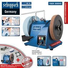 Scheppach Nass-Schleifsystem Tiger 3000VS Nassschleifmaschine mit Zubehör 250mm