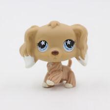 LPS Littlest Pet Shop Animals Flower Eyes Cream Cocker Spaniel Puppy Figure Toys