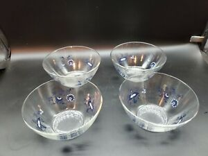 Blue Danube Glass Salad bowl