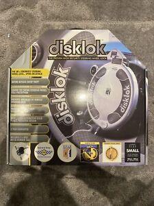 Disklok Steering Wheel Security Lock - Silver.BRAND NEW