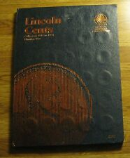 1941 TO 1974 PDS BU LINCOLN WHEAT MEMORIAL CENT PENNY COLLECTION BOOK FOLDER SET