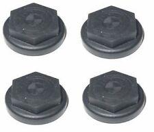 4x BMW Genuine Wheel Bolt Lock Cover Cap Set Black E53 X5 36136752592