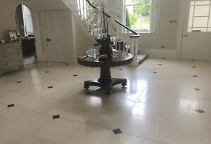 Sinai Cream honed limestone tiles and stone flooring