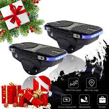 Portable Electric Skateboard Hovershoes Self Balancing Smart Hoverboard Shoes AU
