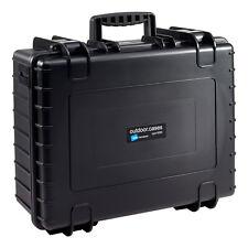 B&W International B & W Outdoor Case Type 6000 Black With Foam Inlay